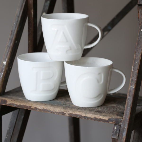 "Alphabet Mugs ""A"" 380ml"