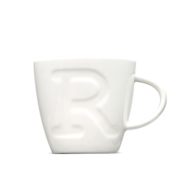 "Alphabet Mugs ""R"" 380ml"