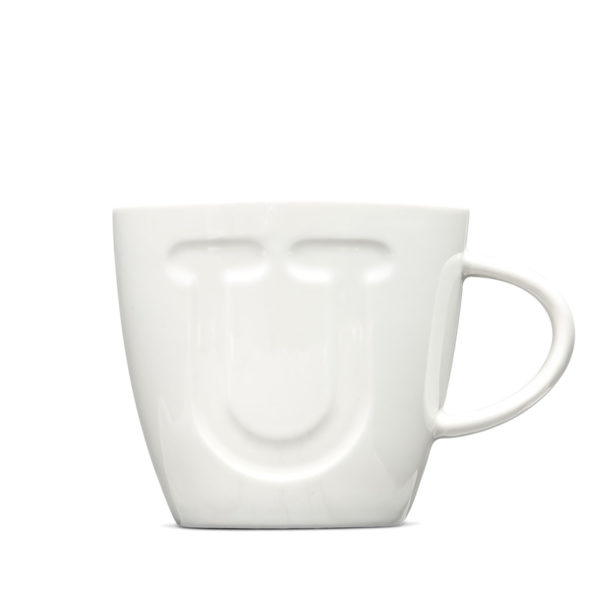 Alphabet Mugs 380Ml - U