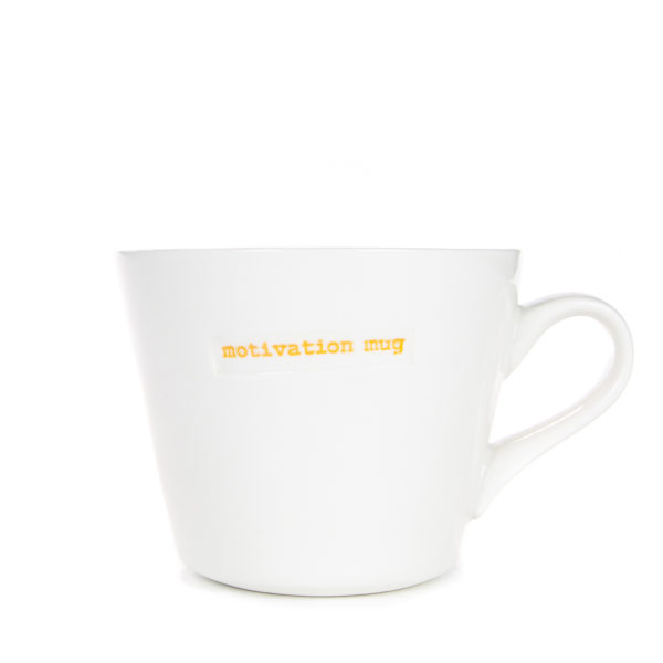 Standard Bucket Mug 350ml - motivation mug