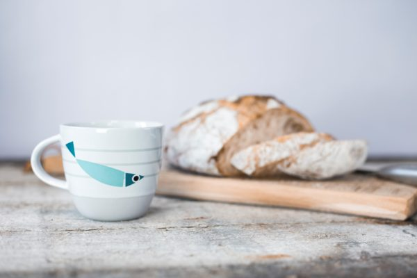 Fishy Rise & Shine | Nautical Mug