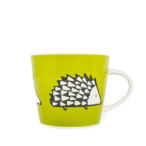Scion Spike Hedgehog Mug 350ml - Green