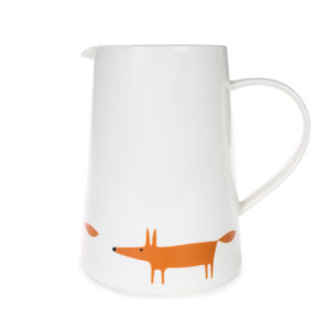 Scion Living Mr Fox - Large Jug - Ceramic & Orange