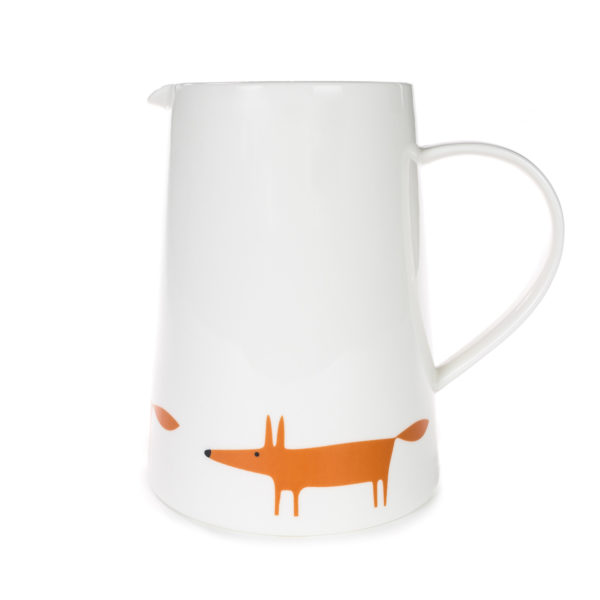 Scion Mr Fox Jug | Large | Ceramic & Orange