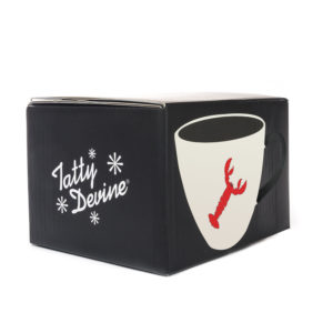 Tatty Devine Mug | Lobster (gift boxed)