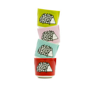Scion Spike Hedgehog Egg Cup Set Of 4