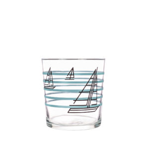 Bert & Buoy Dartmouth Design Glass Tumbler