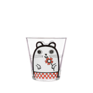 Jane Foster Pets Design Glass Tumbler Hamster
